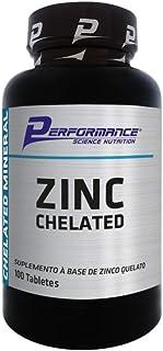 Zinco Mineral Quelato Zinc Chelated 29 mg Performance Nutrit