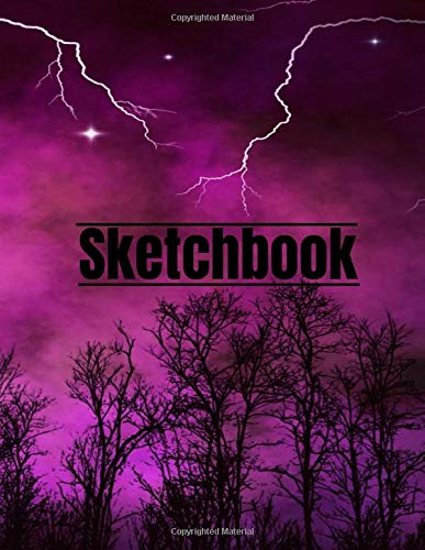 Sketchbook: Beautiful Sketchbook for Kids and Adults with 110 pages of 8.5 x 11