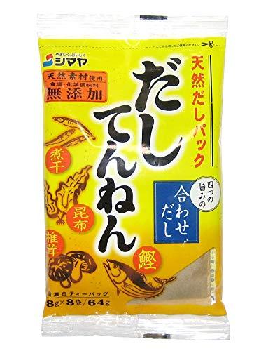 SHIMAYA Natural Soup Stock Pack (Dashi Pack) [English instructions on the back] 8 bags (2.26 oz)