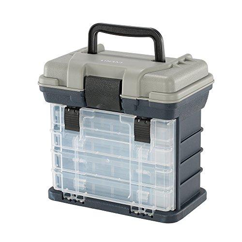 Lixada Caja de Pesca Multicapa para Señuelos de Pesca, para Cebo Artificial con Anzuelos, Resistente al Agua