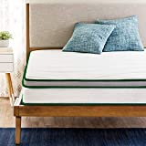 SLEEPSPA by Coirfit 6' Inch Double Size Pocket Spring & Latex Mattress with Cashmere Fabric (72 x 48...