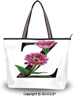 SCOCICI Tote Bag Oversized Shoulder Handbag Purse Compass,Primitive Navigation