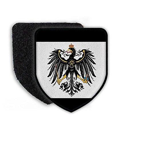 Copytec Patch Preußen Fahne Flagge Adler Deutschland Old Germany Aufnäher Wappen Abzeichen Alter Fritz #20433