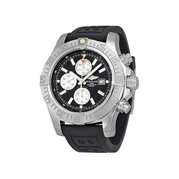 Breitling Watches Breitling Men's BTA1337111-BC29BKPT3 Super Avenger II Analog Display Swiss