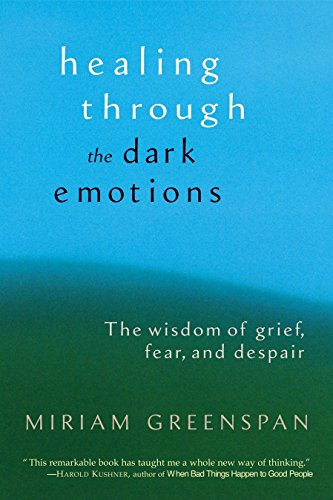 Compare Textbook Prices for Healing Through the Dark Emotions: The Wisdom of Grief, Fear, and Despair First Paperback Edition Edition ISBN 9781590301012 by Greenspan, Miriam