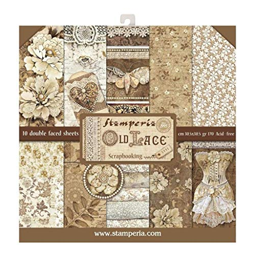 Stamperia Pad 30x30cm Old Lace