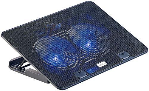 Callstel Laptop Kühler: Ultraleiser Notebook-Kühler bis 43,8 cm (17