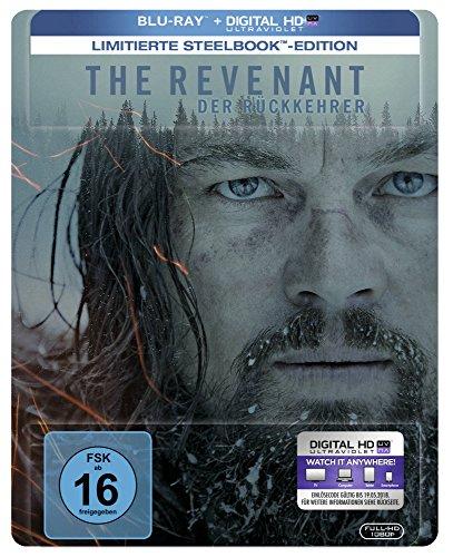 The Revenant: Der Rückkehrer - Steelbook [Limited Edition] (+ Digital Copy) [Blu-ray]