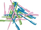 25 Pieces Mini Eyebrow or Eyelash Comb for makeup, microblading, baby hairs, eyelash extensions