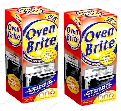 Oven Brite – 500 ml – Bolsa de botella y guantes incluidos – Limpiador completo de horno X2 (2)