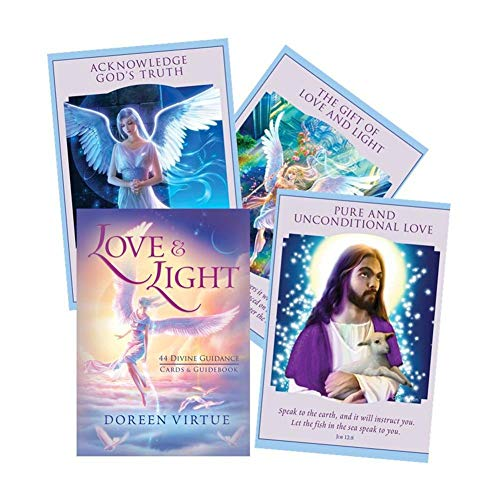 DOLS Love and Light Oracle Cards,Family Holiday Party Playing Cards English Tarot Game Toys