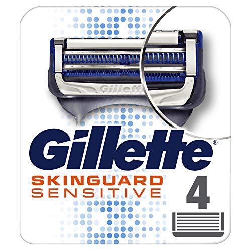 Gillette SkinGuard Sensitive Maquinillas Para Hombre 4 Recambios