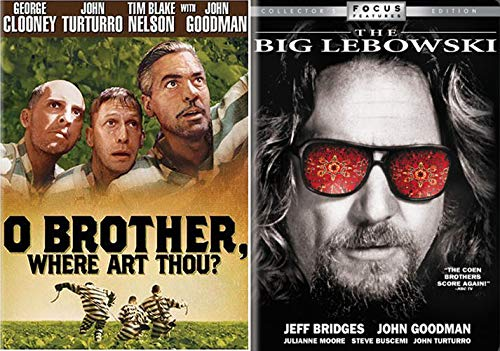They Done Did It Again, The Coen Brothers Cult Classics: The Big Lebowski & O Brother, Where Art Thou (2 DVD- Movie Set)