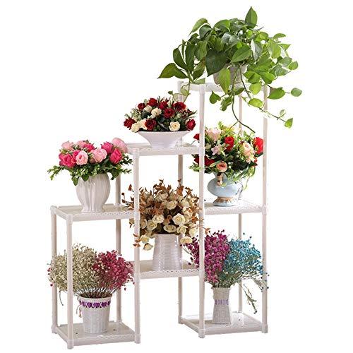 Multi-étages Sol Stand de Fleurs économise de l'espace Balcon Salon d'étude Usine Stockage Rack Mode Belle Fleur Pot Rack