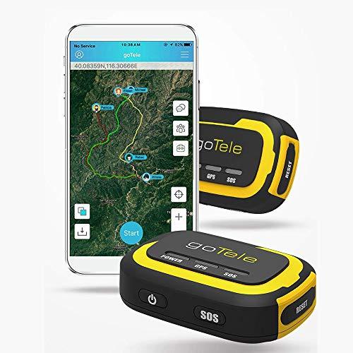 Rastreador de GPS Homly en tiempo real en tiempo real, sin gastos mensuales, sin red, rastreador para actividades al aire libre, senderismo, caza, niños y mascotas
