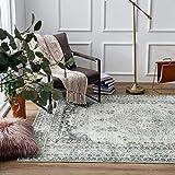 Taleta Mila Teppich orientalisch modern Wohnzimmer Grau Größe:120 x 170 cm