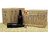 Pack complet pour brasser à la maison. Kit Brassage Bière - Tripel Blonde Ale avec 16 bouteilles de bière et 100 bouchons couronne. Brassez jusqu'à 5 litres de bière Pale Ale à la maison. Fait en 8 étapes, très facile et sans connaissances préalables...