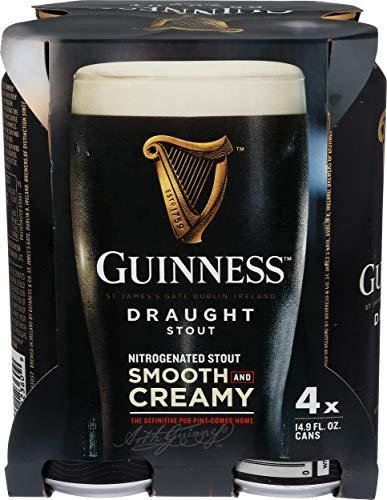 Guinness Pub Draft Stout, 4 pk, 14.9 oz cans, 4.3% ABV
