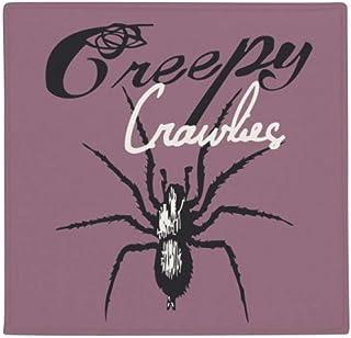 DIYthinker Spider Insect Cobweb - Alfombrilla Antideslizante para Mascota, 80 cm, diseño Cuadrado