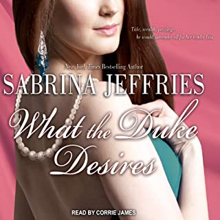What the Duke Desires audiobook cover art