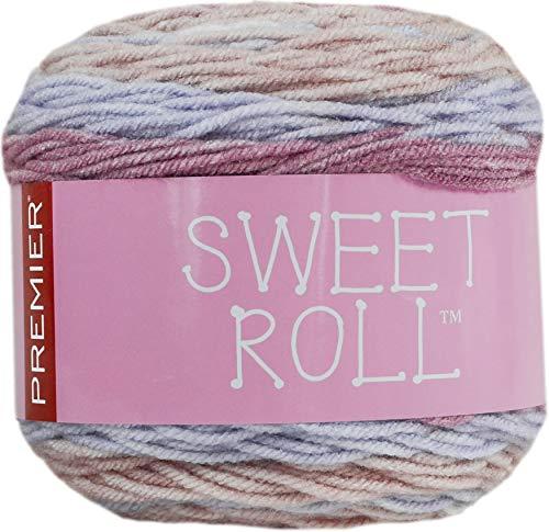 PREMIER YARNS Garen Sweet ROLL Lave, Honing Lavendel, One Size