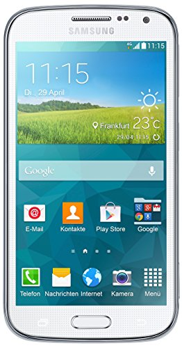 Samsung Galaxy K zoom C115 Smartphone (12,2 cm / 4,8 Zoll HD Super-AMOLED-Display, 8 GB interner Speicher, 20,7 Megapixel Kamera, 10-fach optischer Zoom, Android 4.4) Shimmery-white / weiß