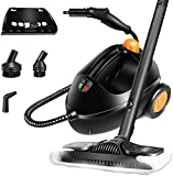 MASTERTOP Steam Cleaner Steam Machine - Heavy-Duty Cleaner, Multipurpose Steam Cleaning Machine, Can Steam Sterilize Tableware, Iron Clothes, Clean Floors, Bathroom, Carpet, Mattress