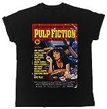 Uk print king Pulp Fiction Red Poster Drôle, Sympa, Cadeau, Concepteur, T-Shirt Unisexe