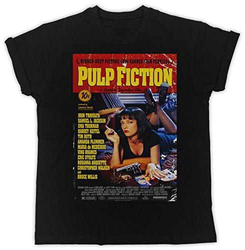 Uk print king Pulp Fiction Red Poster Cooler Spruch, Slogan, lustiges Design, Geschenkidee