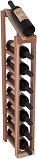 Wine Racks America Redwood 1 Column 8 Row Display Top Kit. Unstained