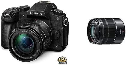 PANASONIC LUMIX G85 4K Digital Camera, 12-60mm Power O.I.S. Lens, with Vario 45-150mm F4.0-5.6 ASPH Mirrorless Camera Lens with Optical Stabilizer