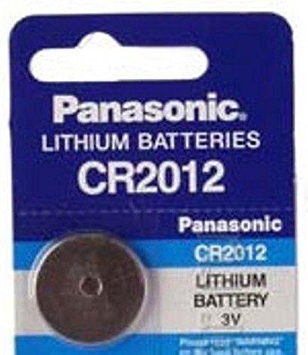 PANASONIC Lithium-Knopfzelle CR2012 3,0Volt 55mAh - 1 Zelle