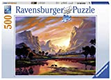 Ravensburger Tranquil Sunset 14833 500 Piece Puzzle for Adults, Every Piece is Unique, Softclick Technology Means Pieces Fit Together Perfectly, Multi, 19.5' x 14.25'