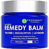 Remedy Tea Tree Oil Balm - Cream for Athletes Foot,...