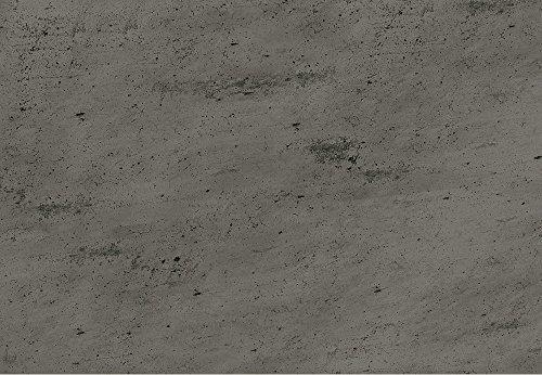 1 m² Printstone Klebekork, Korkboden in Steinoptik, Korkboden in Betonoptik, bedruckter Korkboden, Klebekork, Fußboden zum kleben, Korkboden vorversiegelt und vorgeleimt - Beton grey