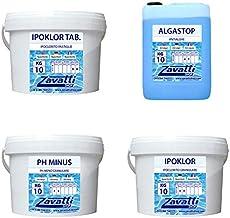 Zavattishop Summer Kit Calcium Productos químicos Piscina