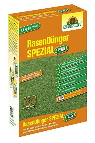 Neudorff RasenDünger SPEZIAL 5PLUS1 - 2,5 kg