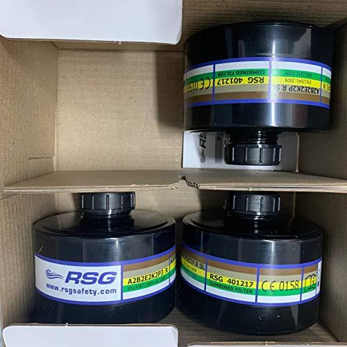 NATO 40mm NBC/CBRN Gas Mask Filter 3-Pak Newest Avail 5yr Shelf-Life Exp 2024