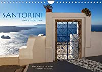 Santorini Fira & Firostefani (Wandkalender 2022 DIN A4 quer): Santorini Fira & Firostefani (Monatskalender, 14 Seiten )