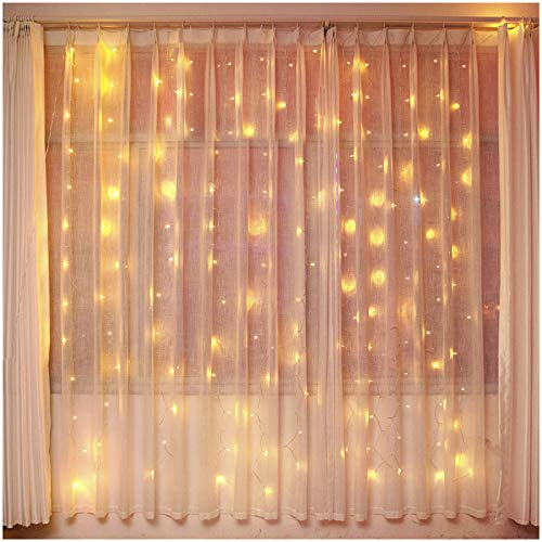 Bolylight 9.8 x 9.8ft 300 LED Curtain String Light {Expires 12/7} [Coupon Code: HNP7D4NQ] (50% off) - $11.49