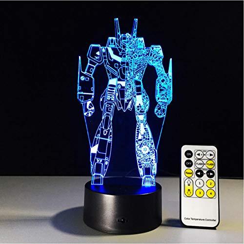 Wzadxy 3d night light rgb cambiable humor lamp led light dc5v usb 3aa batería decorativa lámpara de mesa un control remoto gratis