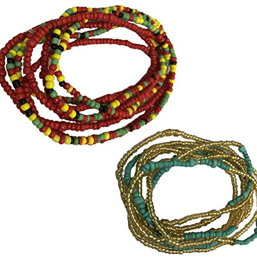 Taille Perlen Bauch Perle, Farbe Wählen Taille Korn. Afrikanische Taille Perlen, Körperkette, Wulstige Bauch-Kette, Taille Kette, Dehnbare Elastische Schnur, Sommer Schmuck, Bikini Schmuck