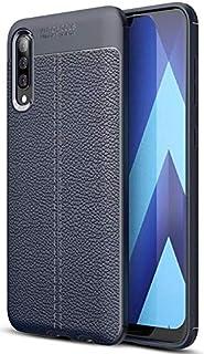 Samsung Galaxy A50 back cover Silicon Auto Focus - Blue