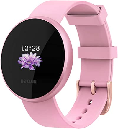BOZLUN Smart Watch for Android Phones and iPhones, Waterproof Smartwatch Activity Fitness Tracker with Heart Rate Monitor Sleep Tracker Step Counter for Women and Men (Pink)