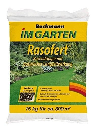 Engrais pour gazon Raso Fert organisch. min. 15 kg pour env. 300 m²