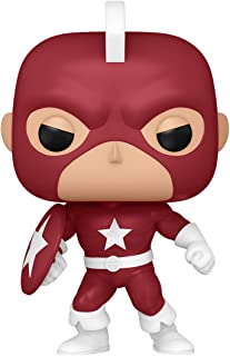 Funko Pop! Marvel: Año del Escudo - Red Guardian, Amazon Exclusive
