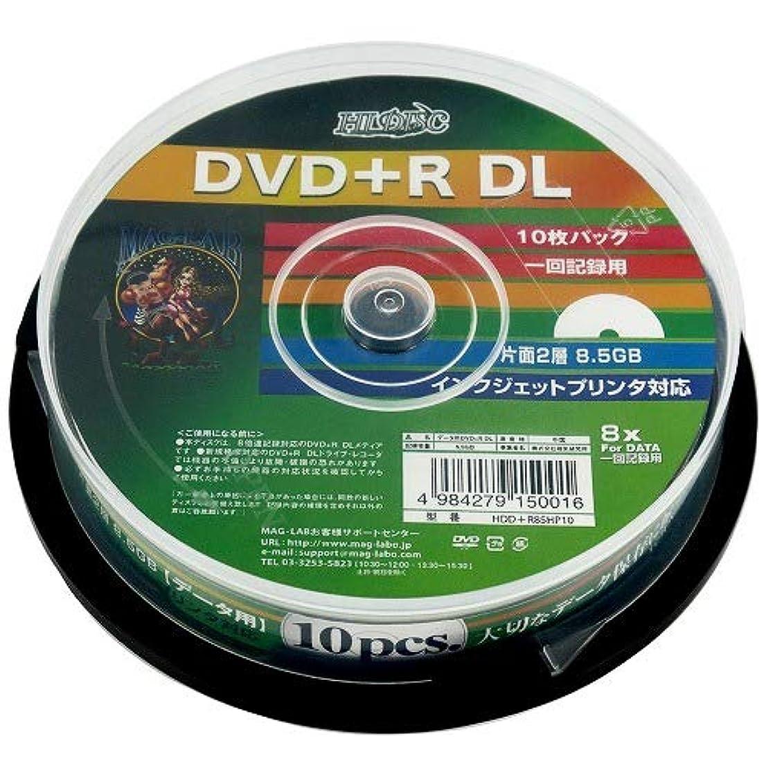 カテナ二次規範HI-DISC データ用DVD+R HDD+R85HP10 (DL/8倍速/10枚)