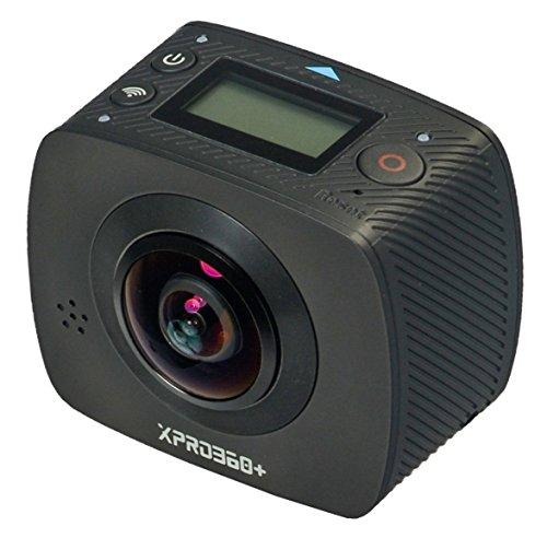 TecTecTec XPRO360 + 360 Grad Kamera mit HD Auflösung - Doppelobjektiv mit extra breitem Winkel