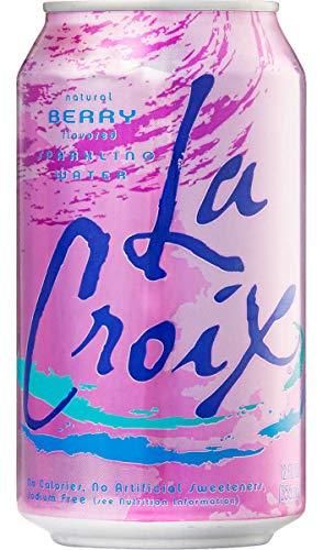 LaCroix(ラクロワ) 炭酸水 ベリー風味 355mL x 24缶