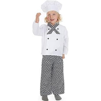 Disfraz infantil de cocinero (3-5 años): Amazon.es: Juguetes y juegos